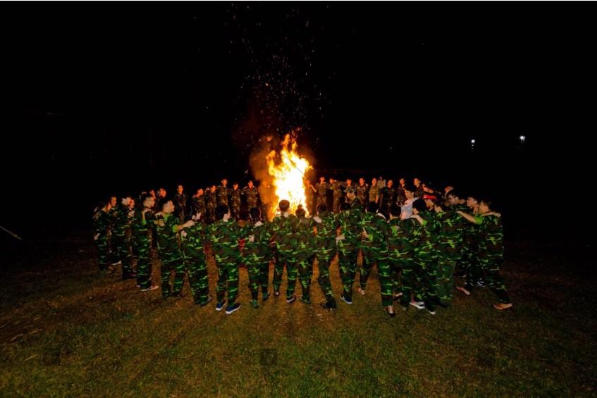 Chương trình teambuilding quân đội
