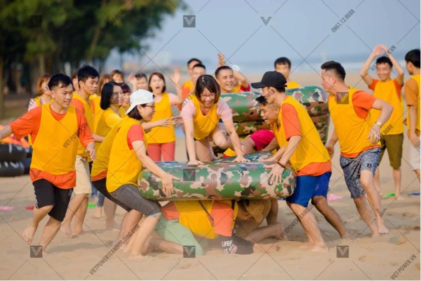 Dịch vụ tổ chức teambuilding bãi biển