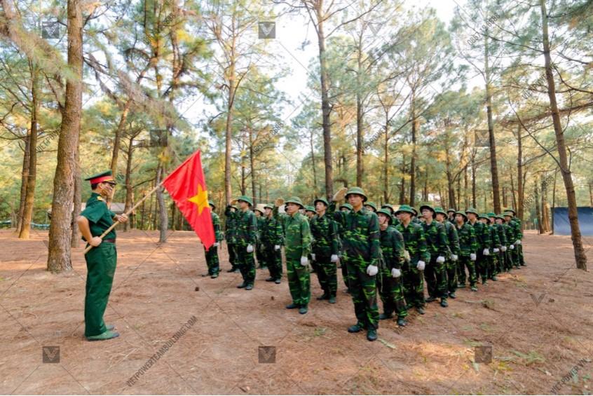 Tổ chức team building quân đội