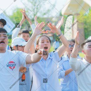 tổ chức team building học sinh