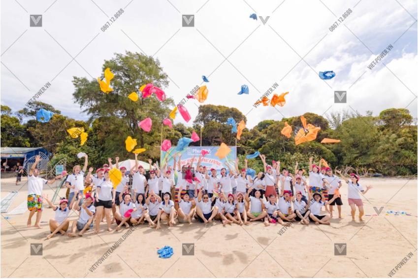 chương trình teambuilding công nghệ phúc bình