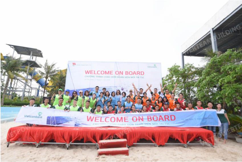 Chương trình teambuilding đoàn thanh niên vietcombank