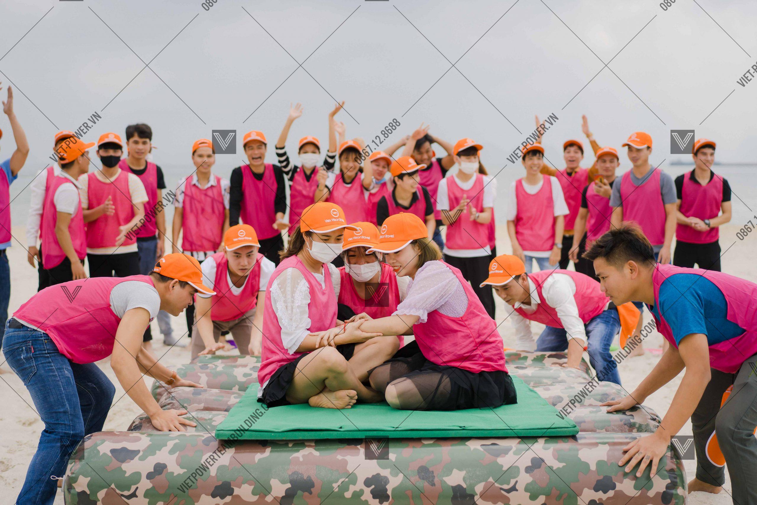 kinh nghiệm tổ chức team building tại đà nẵng 5