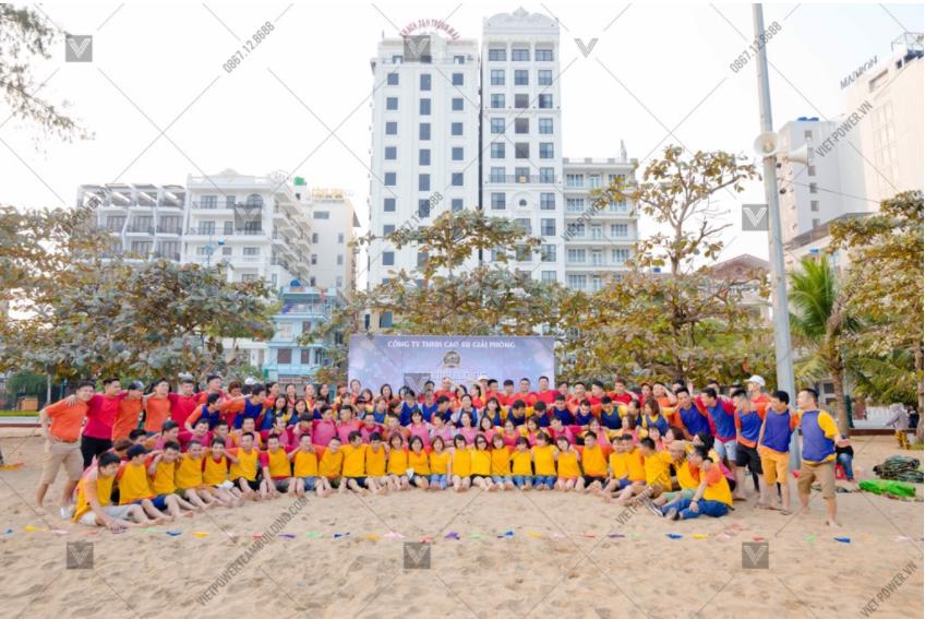 teambuilding bãi biển sầm sơn
