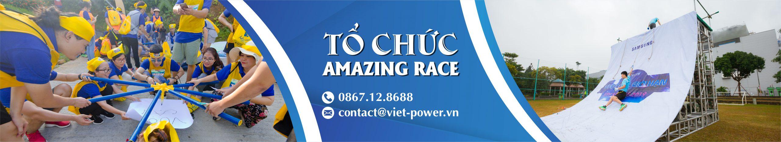 tổ chức amazing race