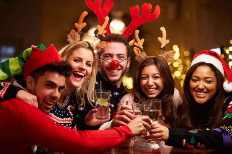 tổ chức tiệc giáng sinh