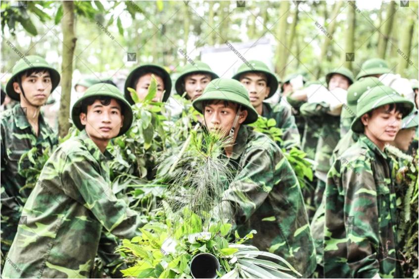 top 9 trò chơi team building quân đội