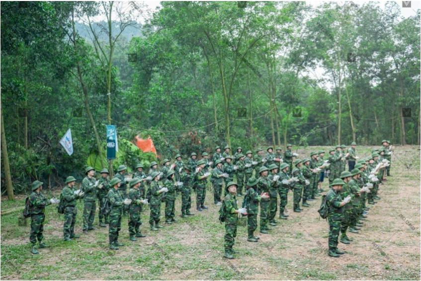 trò chơi team building quân đội 11