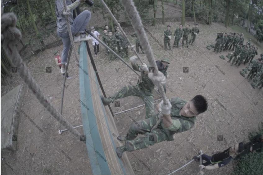 trò chơi team building quân đội 3
