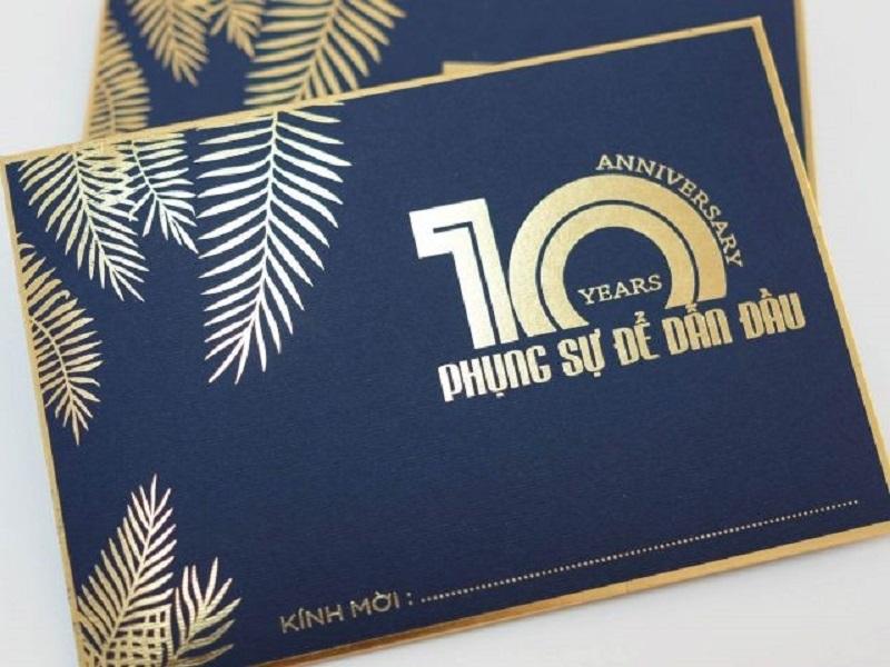 Thiệp mời kỷ niệm thành lập công ty 13