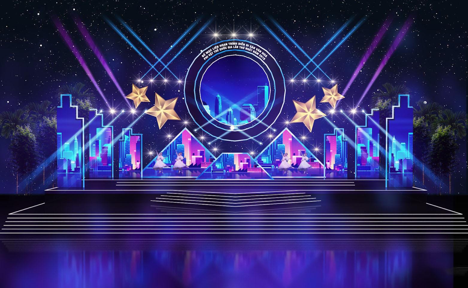 Thiết kế sân khấu sự kiện chuyên nghiệp 6