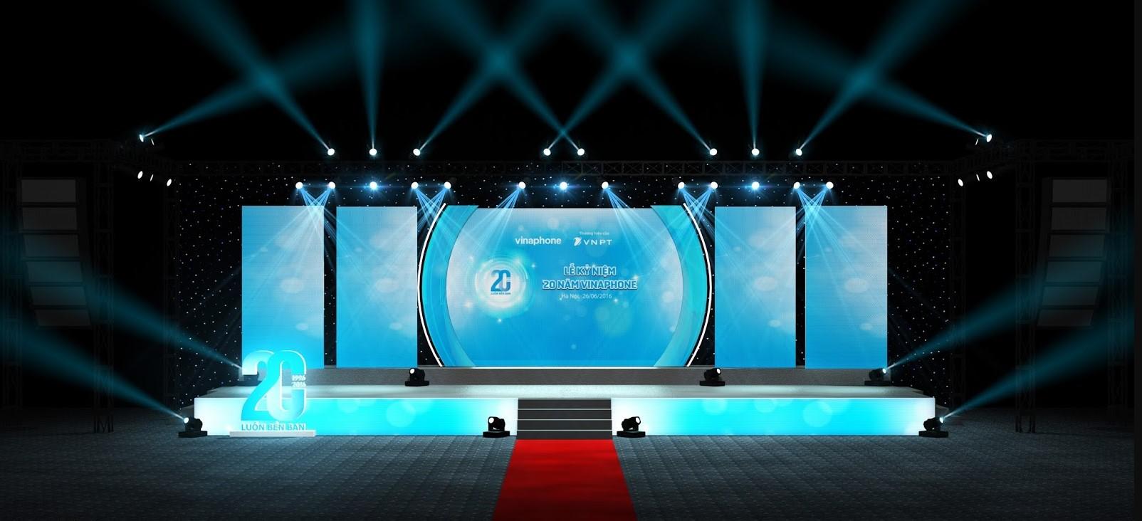 Thiết kế sân khấu sự kiện chuyên nghiệp