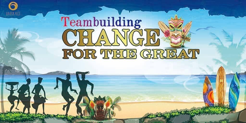 Mẫu banner team building 1